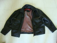 Leather Motorcycle Jacket VERY GOOD CONDITION
