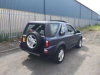 Landrova freelander in mint condition for its age first to see will buy .