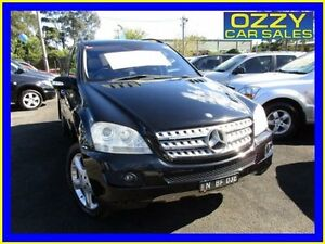 2007 Mercedes-Benz ML W164 320 CDI Luxury (4x4) Black 7 Speed Automatic G-Tronic Wagon Minto Campbelltown Area Preview