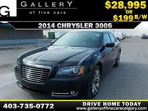 2014 Chrysler 300S $199 bi-weekly APPLY NOW DRIVE NOW