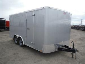 **GUARANTEED LOWEST PRICE** 8.5 X 16 ENCLOSED TRAILER - GST INCL