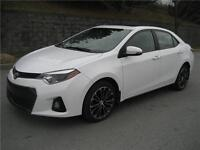 2014 TOYOTA COROLLA S (AUTOMATIQUE, CUIR, NAVI, TOIT, MAGS, FULL