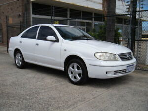 2005 Nissan Pulsar N16 MY04 ST-L White 4 Speed Automatic Sedan Wangara Wanneroo Area Preview