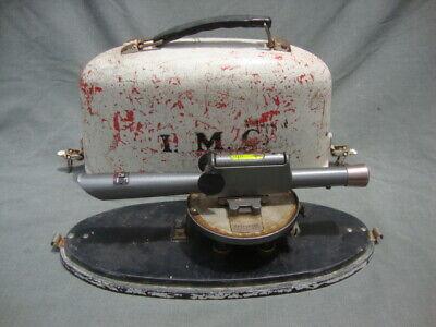 David White Realist Dw-8090 Survey Level Surveyors Transit W Case Vintage Tool