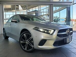 2019 Mercedes-Benz A-Class V177 A200 DCT Silver 7 Speed Sports Automatic Dual Clutch Sedan North Hobart Hobart City Preview