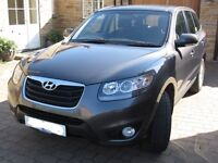 2010 (10 plate) Hyundai Santa Fe 2.2CRDi Style DIESEL 4X4 194BHP Immaculate, FSH, 1 Family Since New