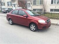 2009 CHEVROLET AVEO. AUTOMATIC. 79 000km. IMPECABLE. 4400$