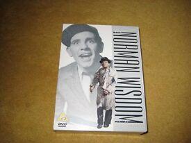 Norman Wisdom 12 DVD Box Set. Near Mint Condition.
