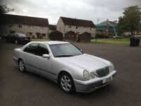Mercedes E Class 2.1 CDI Auto Full Black Leather