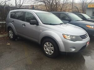2007 Mitsubishi Outlander LS AWD! COMES CERTIFIED AND E-TESTED!