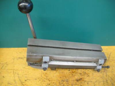 Hardinge Model E Quick Action Cross Slide Dv-59 Dsm-59 Hsl 3-12 Dovetail