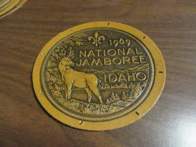 1969 National Jamboree Large Leather Patch