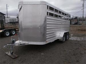 Featherlite 16' Stock Trailer