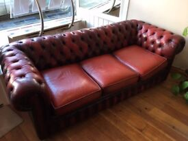 Chesterfield Sofa for sale Buyer Collects