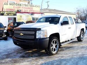 """ ON SALE "" 2009 CHEVROLET SILVERADO AUTO 22"" WHEEL-100% FINANCE"