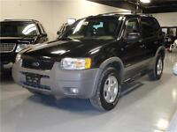2002 Ford Escape XLT 4x4 with leather+moonroof