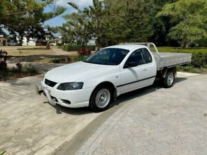 2007 Ford Falcon AU II XL Cab Chassis Super Cab 2dr Auto 4sp 4.0Gi (Col) White Automatic Cab Chassis Biggera Waters Gold Coast City Preview