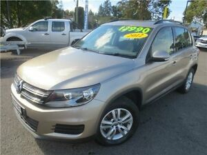 2011 Volkswagen Tiguan 5N MY12 118TSI 2WD Gold 6 Speed Manual Wagon Cardiff Lake Macquarie Area Preview