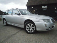 0656 ROVER 75 CONNOISSUER 2.5 V6 AUTOMATIC TOURING/ESTATE 76K SERVICE HISTORY