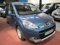 59 PEUGEOT PARTNER WHEELCHAIR ADAPTED DISABLED 50 + ADAPTED VEHICLES IN STOCK