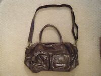 *REDUCED PRICE* KOTO Brown Leatherette Baby Changing Bag *REDUCED PRICE*