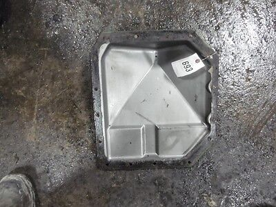 John Deere 4620 Tractor Top Tranny Plate Syncro Tag 693