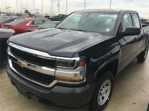 NEW 2018 Chevrolet Silverado 1500 4x4 double cab NEW and 0 %
