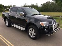 2006 Mitsubishi L200 Warrior 2.5 Di-D Turbo diesel 4x4 chrome pack