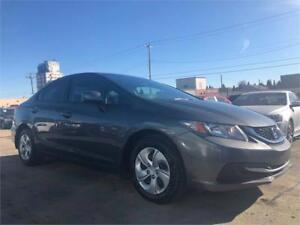 2013 Honda Civic Sdn LX -REMOTE STARTER/COMES WITH 3MTH WARRANTY