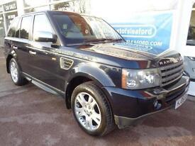 Land Rover Range Rover Sport 2.7TD V6 auto 2006 HSE Full S/H NAV Leather Etc.