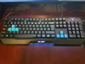 E-Blue Gaming Mouse Pad, Keyboard and Mouse
