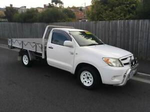 2008 TOYOTA HILUX 2.7 FLAT TRAY (FOUR CYLINDER  MANUAL) North Hobart Hobart City Preview