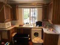 A good condition country style kitchen