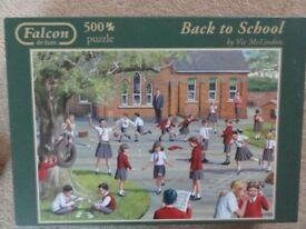 Falcon 500 piece Jigsaw Puzzle - Back To School