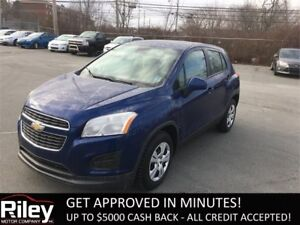 2015 Chevrolet Trax LS STARTING AT $147.23 BI-WEEKLY