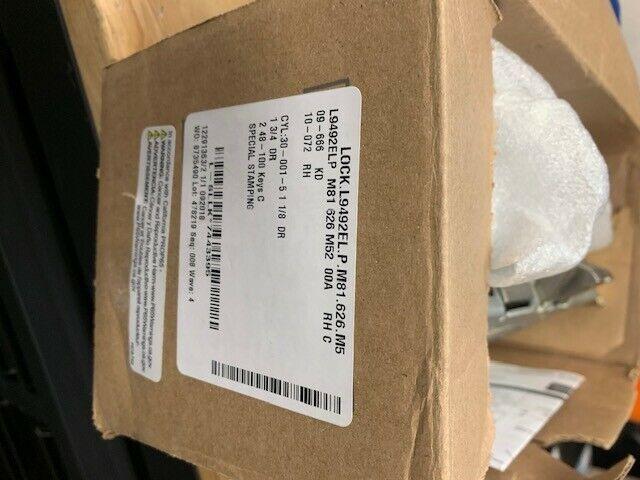 Schlage L9492ELP M81 626 M5 RX Mortise Lock 12/24V RX