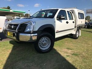 2007 Holden Rodeo RA MY08 LX (4x4) White 5 Speed Manual Crew C/Chas Young Young Area Preview