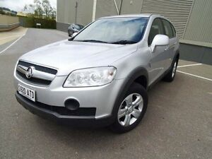 2009 Holden Captiva CG MY09 LX AWD Silver 5 Speed Sports Automatic Wagon Mount Barker Mount Barker Area Preview