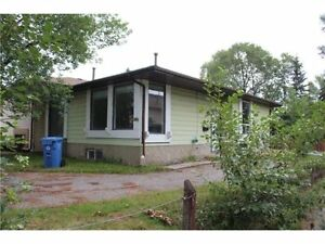 Newly renovated Semi Detached, live up & rent down, Bungalow !!