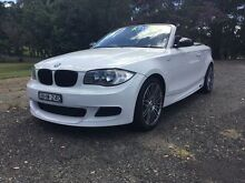 2008 BMW 125I E88 White 6 Speed Automatic Convertible Coffs Harbour Coffs Harbour City Preview