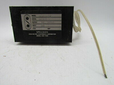 Spellman High Voltage Dc Supply Um3p1500d