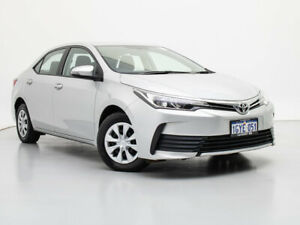 2017 Toyota Corolla ZRE172R MY17 Ascent Silver 7 Speed CVT Auto Sequential Sedan