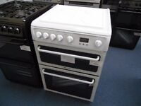 NEW GRADED HOTPOINT ALL GAS COOKER W/ 4 BURNER HOB REF: 13310