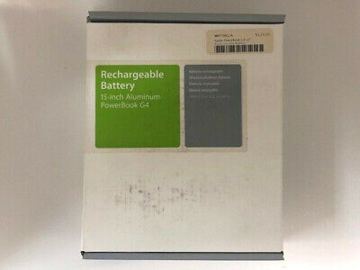 Apple Rechargeable Battery 15-inch Aluminum PowerBook G4 Apple Aluminum Rechargeable Battery