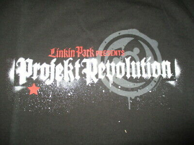 2007 LINKIN PARK PROJEKT REVOLUTION Concert Tour (XL) Shirt CHESTER BENNINGTON