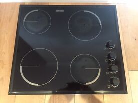 Zanussi Electric Black Hob