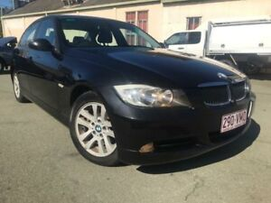 2007 BMW 320d E90 Black 6 Speed Auto Steptronic Sedan Southport Gold Coast City Preview