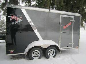 RENTAL - Enclosed Cargo Trailer 7x14