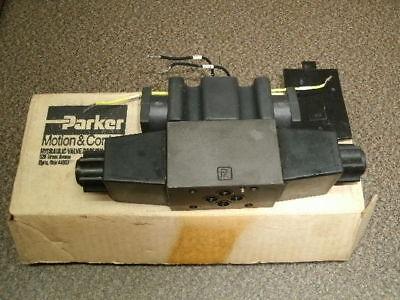 Parker D1vw8cnycf 3-pos Hydraulic Valve 120v