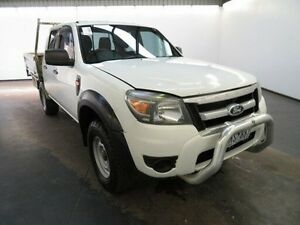 2011 Ford Ranger PK XL HI-Rider (4x2) White 5 Speed Manual Dual Cab Pick-up Albion Brimbank Area Preview